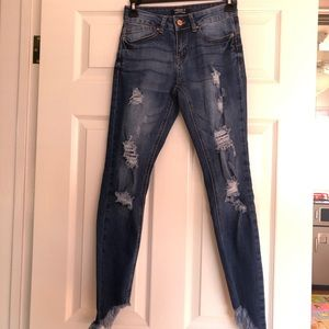 Dark wash Forever 21 Push Up Jeans